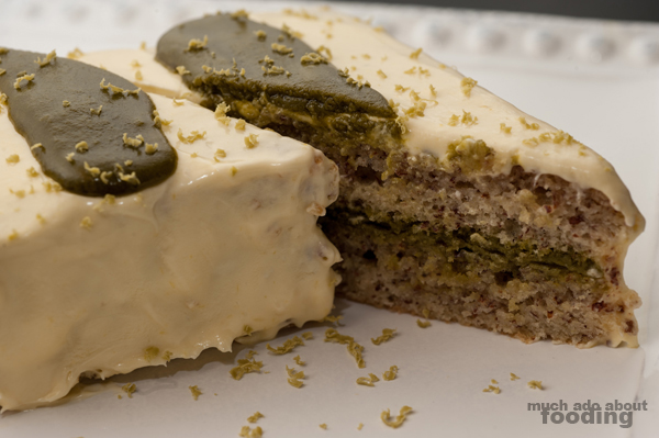 Test Kitchen - Green Tea Opera Cake | Much Ado About Fooding