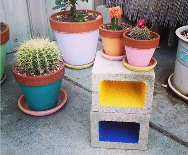 Decorate With Concrete Blocks 15