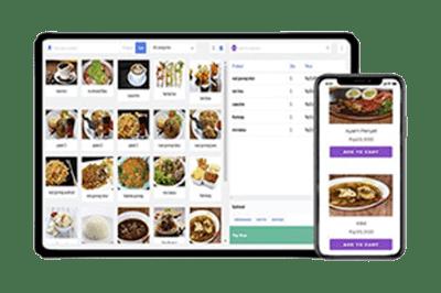 website APK dan aplikasi kasir restoran