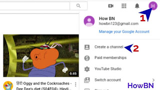 youtube singin profile icon