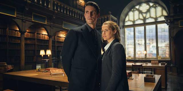 Teresa Palmer y Matthew Goode en 'El descubrimiento de las brujas'