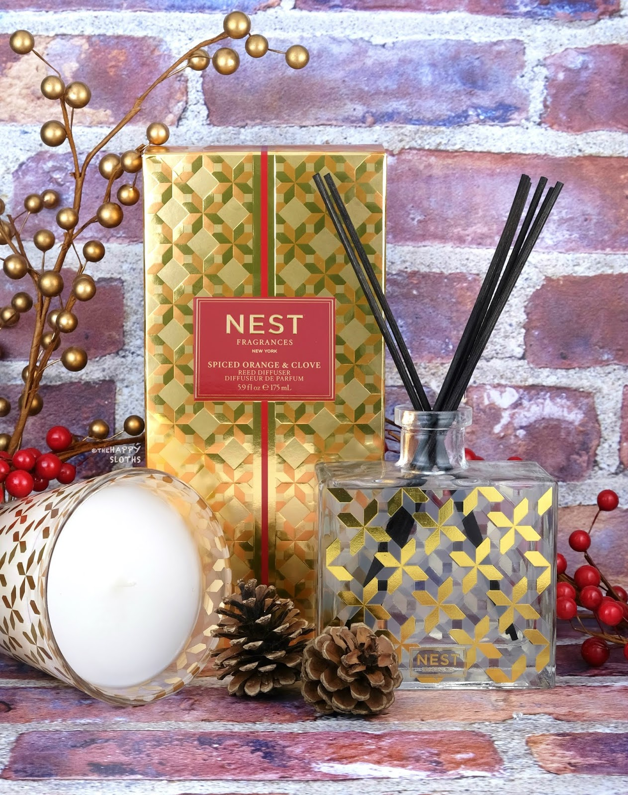 NEST Fragrances | Holiday 2019 Spiced Orange & Clove Collection: Review