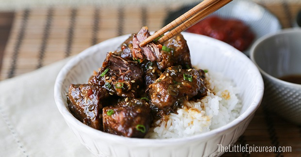 Slow Cooker Asian Braised Beef Recipe