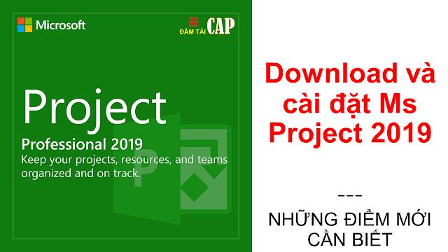 Download và cài đặt Ms Project 2019