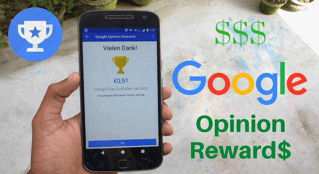 Apps to make money with your mobile smartphone: earning more cash in to your wallet  using google option rewards