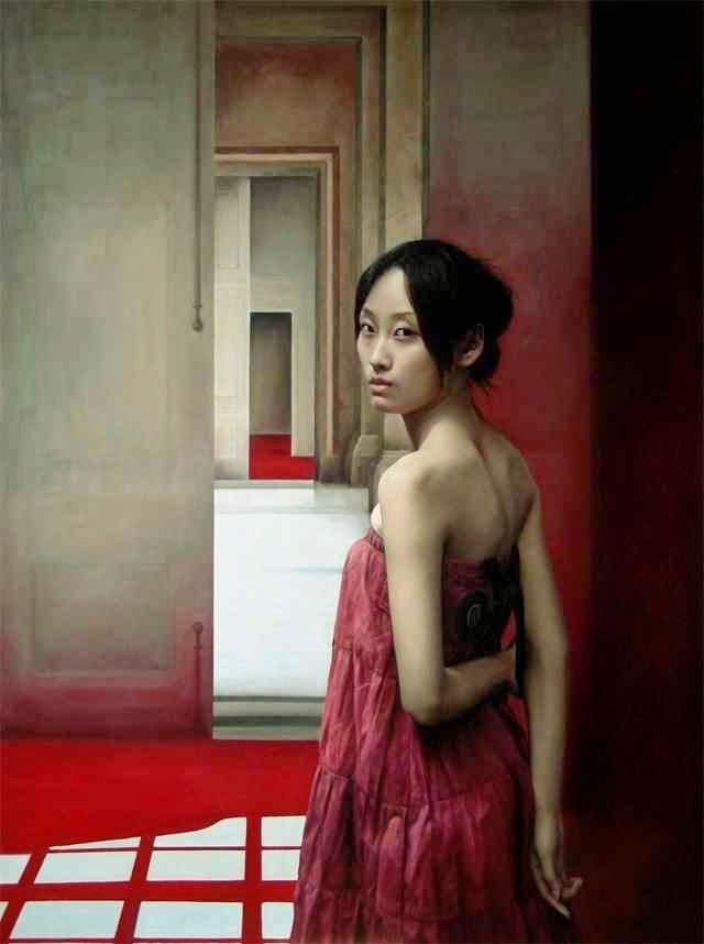 Китайский художник. Li Wentao