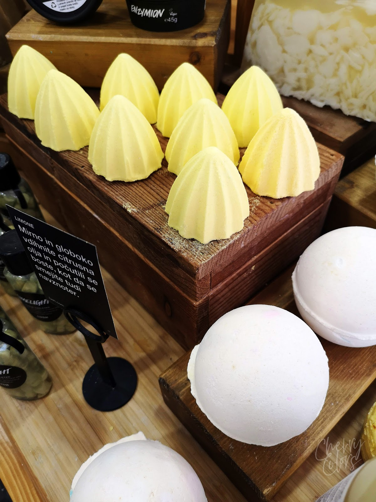 LUSH Shower Bombs