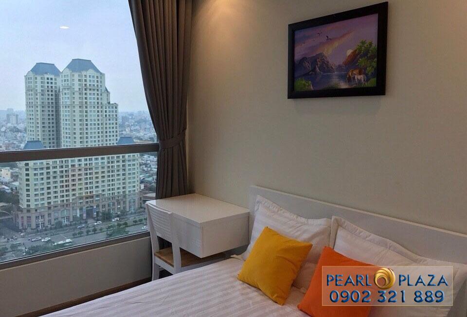 phòng ngủ 2 tại căn hộ Pearl Plaza cho thuê