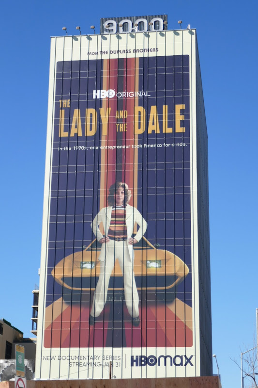 Giant Lady and the Dale series launch billboard