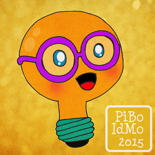 Day 269: Drawing PiBoIdMo's Logo with Tara Lazar and Troy Cummings