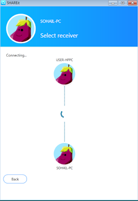SHAREiT Fastest File Transfer-PC To PC
