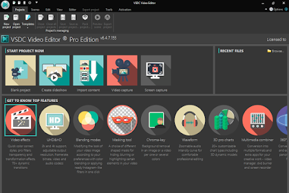 Donwload VSDC Video Editor Pro 6.4.7.155/154 Full Version