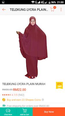 TELEKUNG RM22 DI SHOPEE