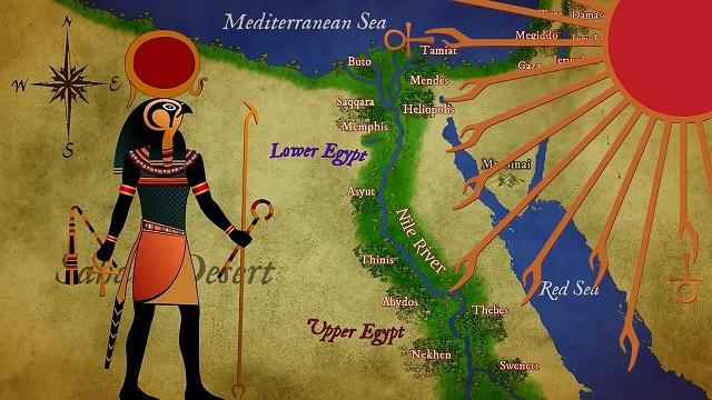 Egyptian God Aten