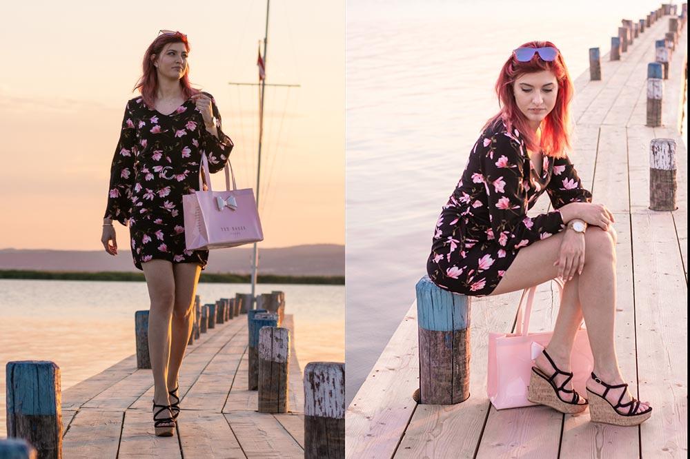Outfit Rosy Flower ganz sitzend