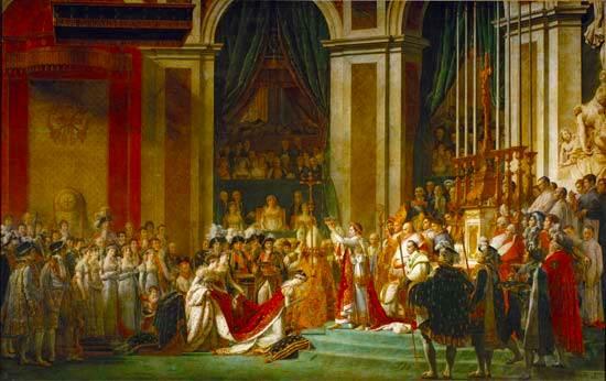 Coronación de Napoleón en Notre-Dame
