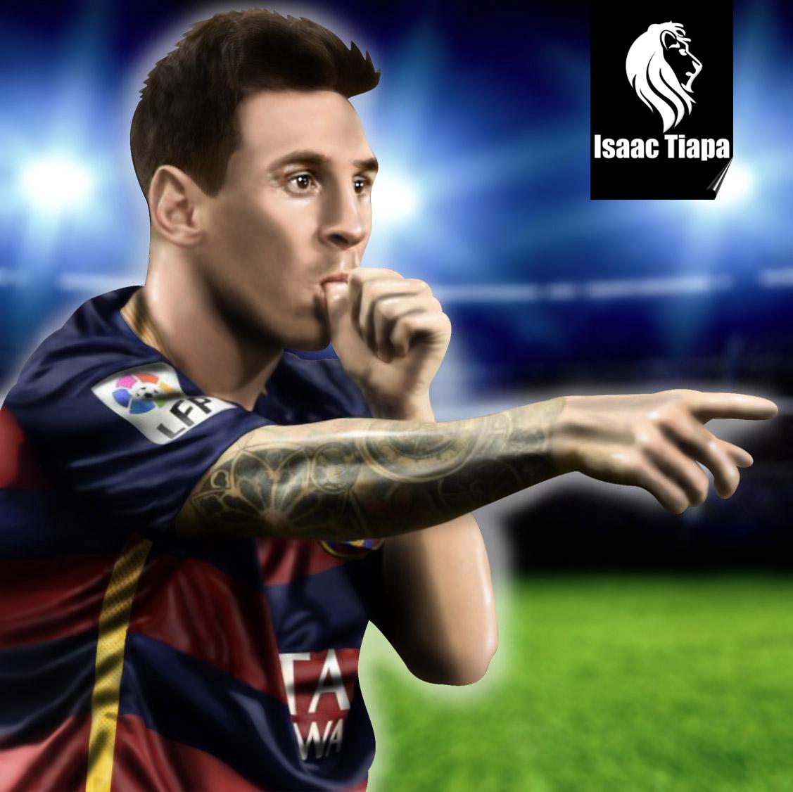 Isaac Tiapa Leo Messi 2015