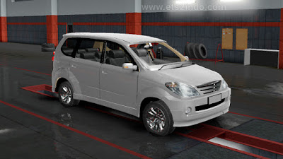 Toyota Avanza By Rindray Update ETS2 1.36