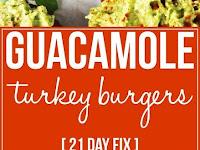 Guacamole Turkey Burgers Recipe