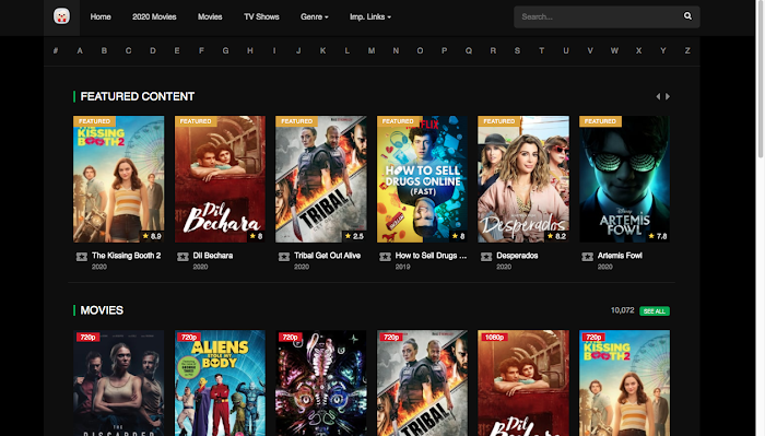 HDPOPCORNS – Sites Like HD Popcorns to Download 720p and 1080p HD Movies Free