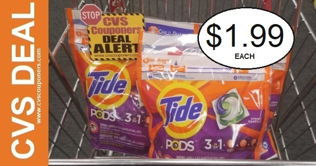 Tide Pods Coupon Deal $1.99 2-7-2-13