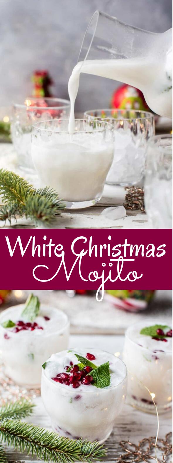 White Christmas Mojito #drinks #christmas