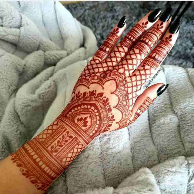 Top 15 Simple Mehndi Design ideas