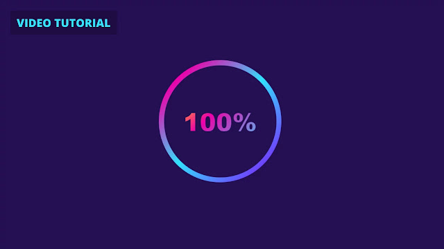 Animated Gradient Shiny Loader with HTML CSS & JavaScript