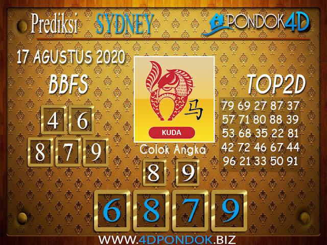 Prediksi Togel SYDNEY PONDOK4D 17 AGUSTUS 2020