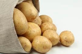 Las patatas contienen manganeso