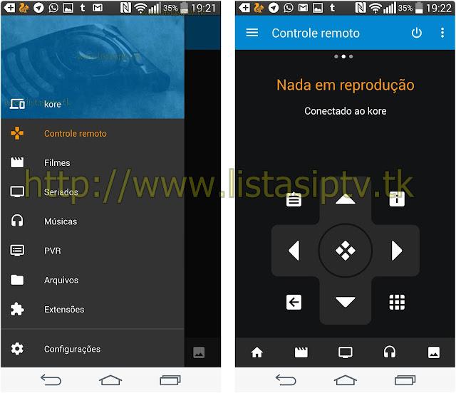 Tutorial - Transforme seu Celular em um controle remoto para o KODI - Kore, Official Remote for Kodi