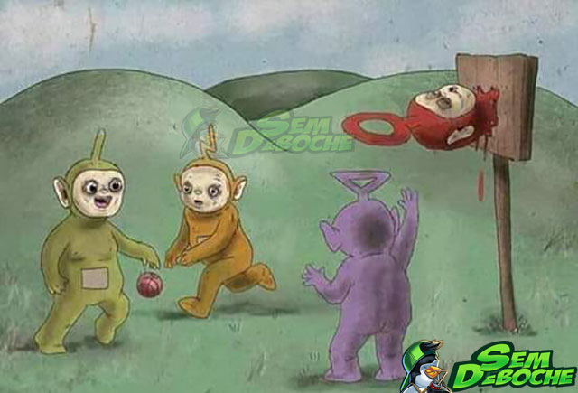 TELETUBBIES DA DEEP WEB