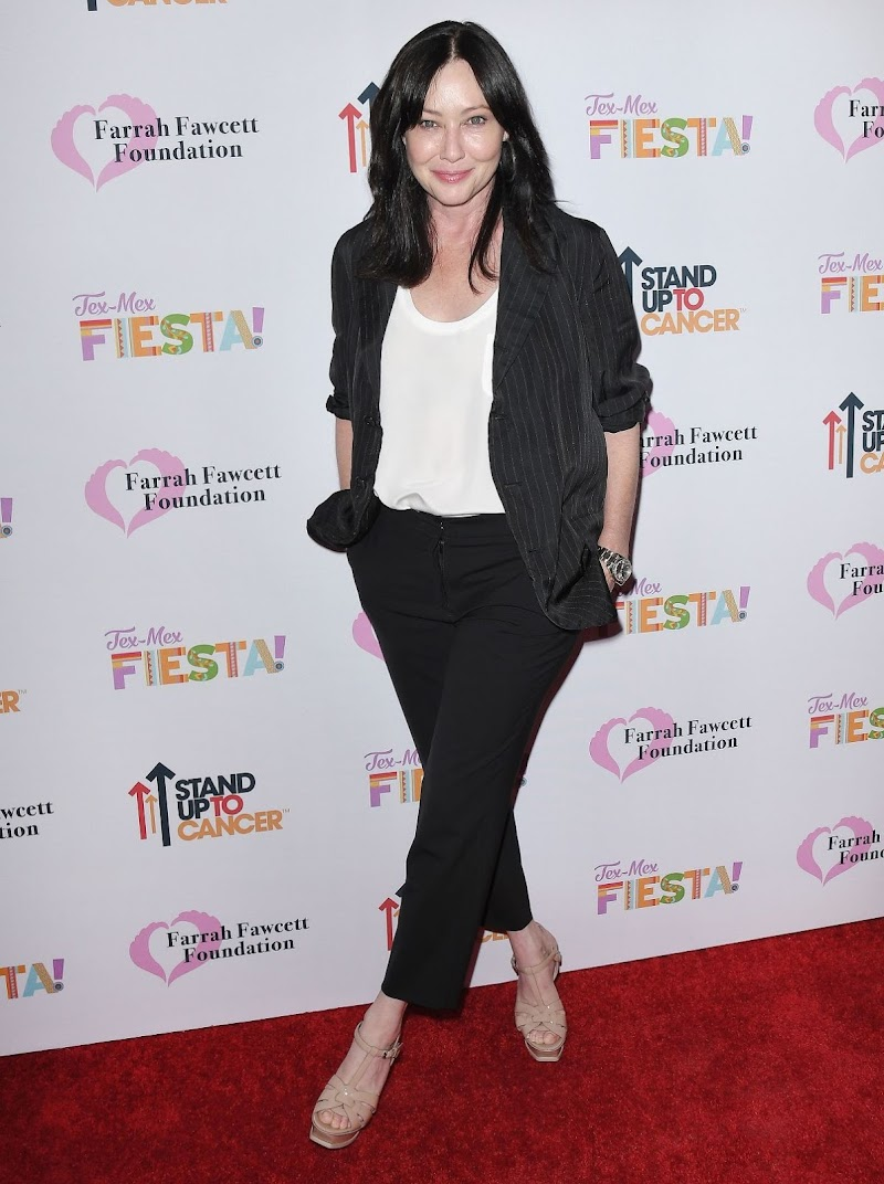 Shannen Doherty Clicks at Tex-mex Fiesta at Wallis Annenberg Center in Los Angeles 6 Sep-2019