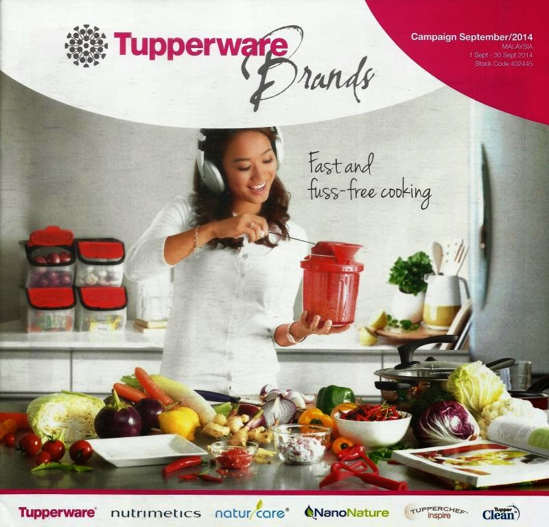 Free Kitchen Catalogs: Tupperware Catalog 1 September 2014