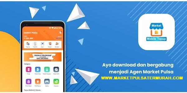 Aplikasi Jual Pulsa Paket Nelpon Android Terbaik CV. Market Chip Multiguna