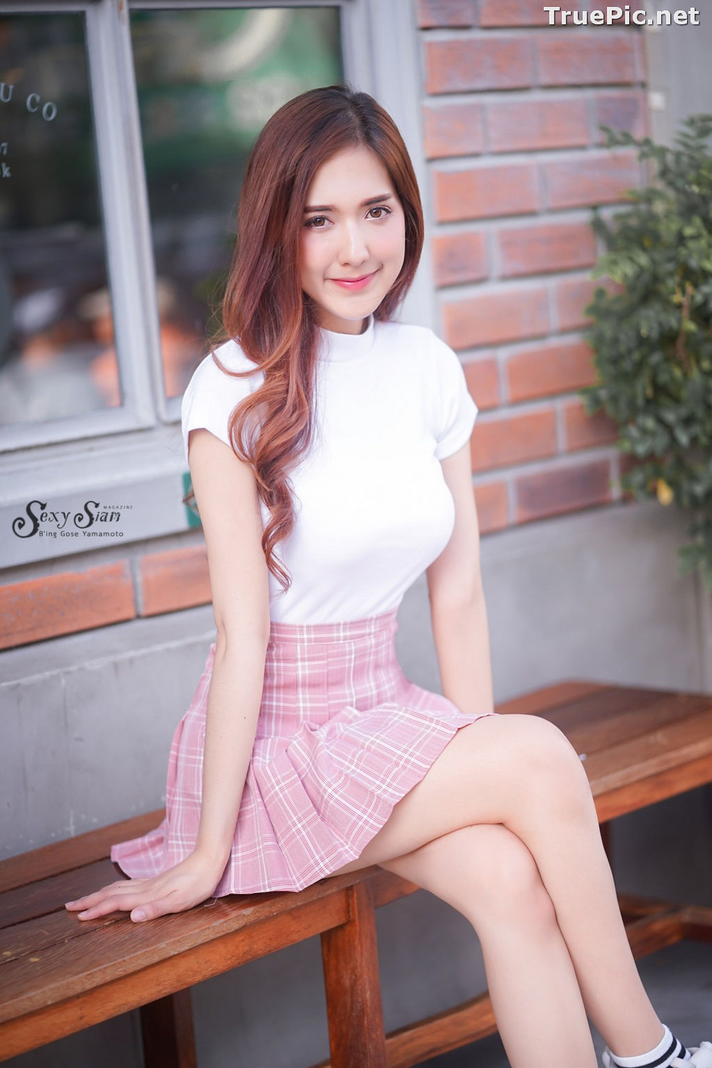 Image Thailand Model - Jarunya Boonya - Pink Love Love Love - TruePic.net - Picture-9