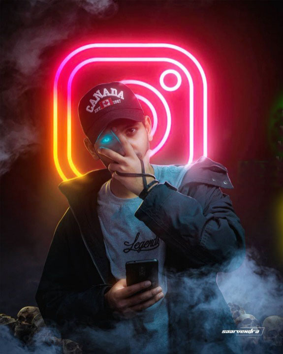Snapseed Instagram Editing