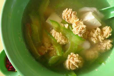 Yu Mei Mei Shi, fish roe soup