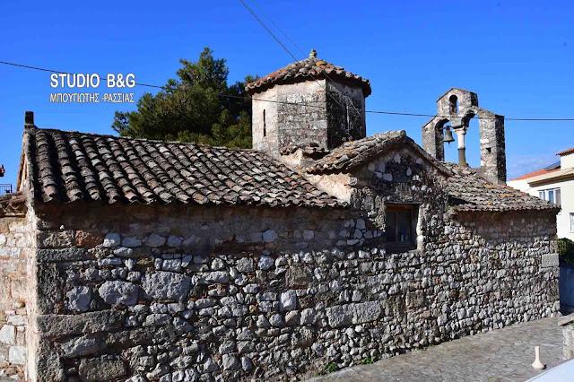 Ο Βυζαντινός Ναός της Παναγίας στο Λυγουριό