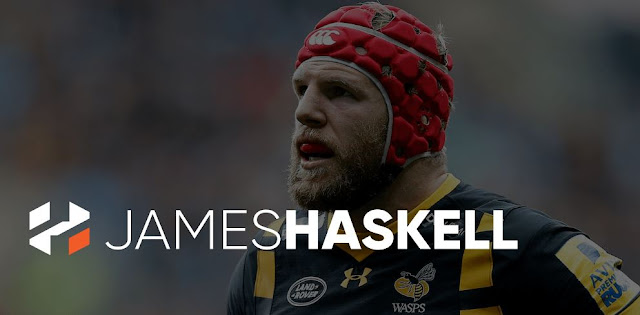 james haskell rugby player brand logo