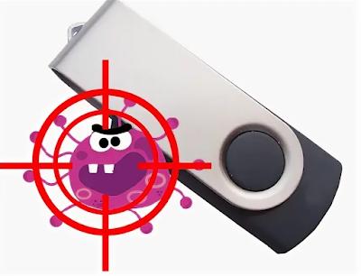 как проверить на вирусы съемные носители