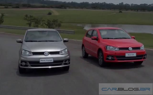 Novo VW Voyage 2017