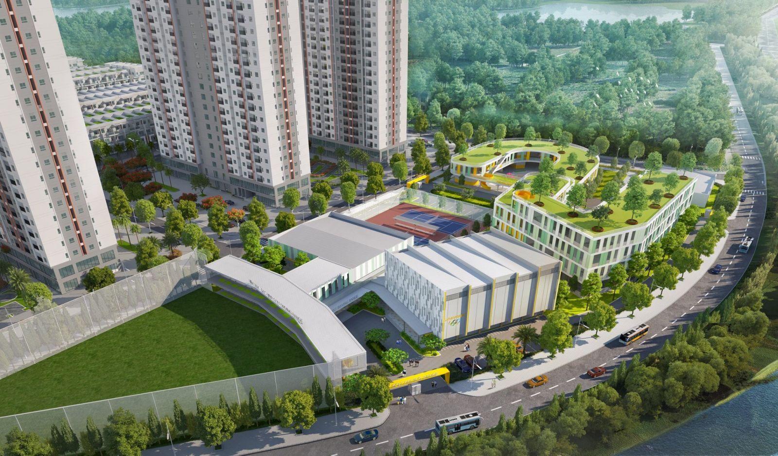 Him Lam Green Park được chủ đầu tư phát triển nhiều hạng mục tiện ích cộng đồng