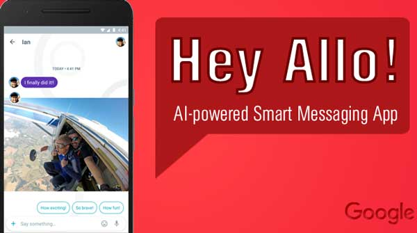 Allo app instant messaging