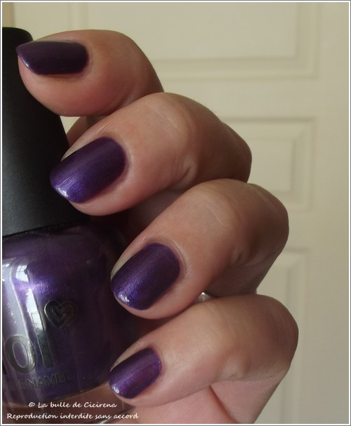 Vernis nacré LOL Purple Lounge (07. Too Cool for School)