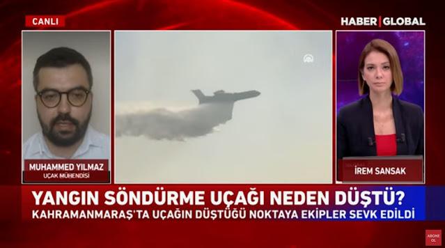 Συνετρίβη ρωσικό πυροσβεστικό αεροπλάνο Beriev στην Τουρκία – Νεκροί οι 8 επιβαίνοντες (βίντεο)