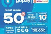 Promo Viva Apotek Diskon 50% Bayar Pake GoPay Periode Maret 2020
