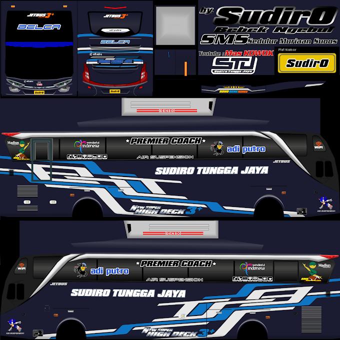 Sudiro Tungga Jaya Belca : Skin Livery Bus Simulator Indonesia