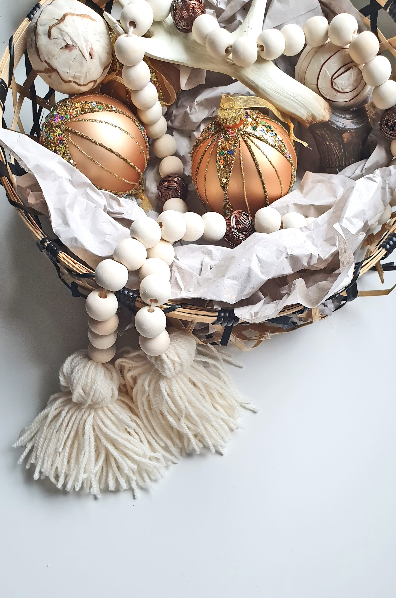 Naturalne dekoracje na Święta