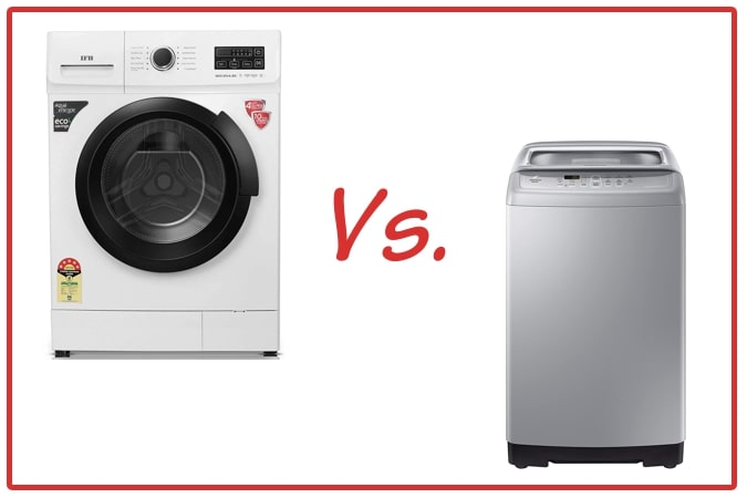 IFB Neo Diva BX (left) and Samsung WA70A4002GS (right) Washing Machines.